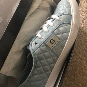 Brand new G by Guess sneakers👟sparkling baby blue